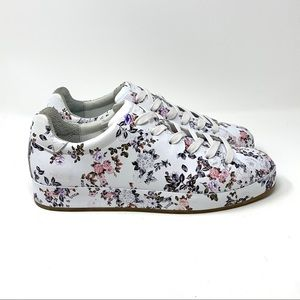 Women's Rag & Bone RB1 Floral Leather Sneakers